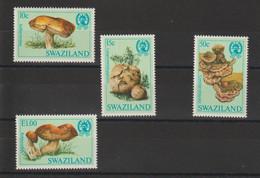 Swaziland 1984 Champignons 460-463 4 Val ** MNH - Swaziland (1968-...)