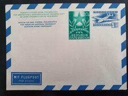 Luftpostbrief Österreich - Interi Postali