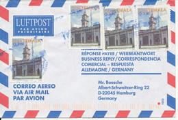 Guatemala Air Mail Cover Sent To Germany 17-10-2001 - Guatemala