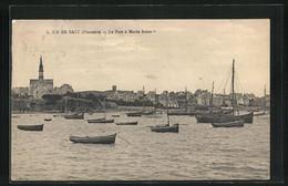 CPA Ile-de-Batz, Le Port à Marée Haute - Ile-de-Batz