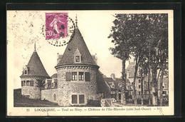 CPA Locquirec, Toul An Héry, Château De I`IIe-Blachne - Locquirec