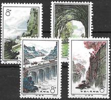 PR China Mnh ** 1972 220 Euros Complete Set - Ungebraucht