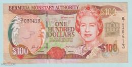 BERMUDAS  100 Dollars 2000 Pick 55a, VF+ - Bermudas
