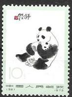 PR China Mnh ** Panda 1973 Best Value 120 Euros - Ungebraucht