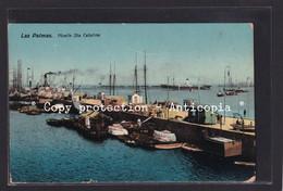 Las Palmas. Muelle Sta Catalina. - Gran Canaria
