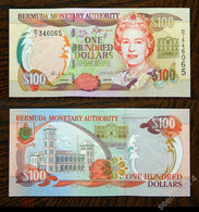 BERMUDAS  100 Dollars 2000 Pick 55a, UNC! - Bermudas