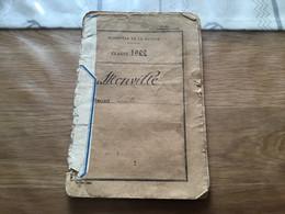 Livret Militaire Tirailleur Du 66°RTM  Campagne En Allemagne 1922-24 - Documents