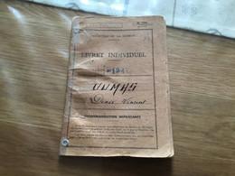 Livret Militaire Tirailleur Du 2°RTA 1947 - Documents