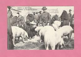 CPA..dépt 22..REPRODUCTION : LANNION  : Le Marché Aux Princes  : Voir 2 Scans - Lannion