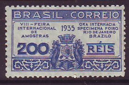 Brasila Esperanto Postmarko 1935 - Neufs