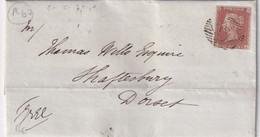 GRANDE-BRETAGNE 1846 LETTRE DE LONDON - Briefe U. Dokumente