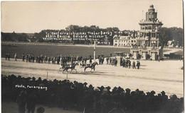 AUTRICHE WIEN 1923 TRABOR DERBY HIPPISME COURSES CHEVAUX TROT ATTELE - Unclassified