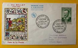 13260 - FDC Joachim Du Bellay Lire 7 Juin 1958 - 1950-1959