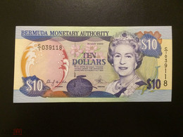 BERMUDAS  10 Dollars 2000 Pick 52, XF-aUNC! - Bermudas