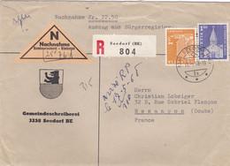 SUISSE :  Contre Remboursement De 22,50 Frs En Recommandé De Seedorf Pour La France - Briefe U. Dokumente