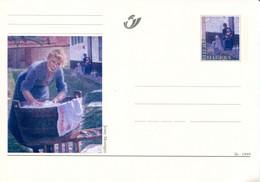 11199510 BE 199901003; L'art Au Féminin; Jenny Montigny, Lavandière; Cob BK77, Carte Postale Illustrée. - Cartes Postales [1951-..]