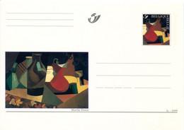 11199511 BE 199901003; L'art Au Féminin; Marthe Donas, Nature Morte; Cob BK78, Carte Postale Illustrée. - Cartes Postales [1951-..]