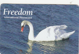 Norway, NOR-PPC 28-56?, Freedom, Svane, Swan, Bird, 2 Scans.     Also Denmark    Exp. : Okt 2007 - Noruega