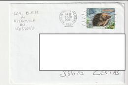 Lettre  Militaire / Mitrovica, Kosovo, BPM 663, 2001 - Lettres & Documents