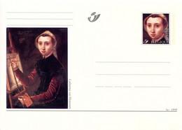 11199529 BE 199901003; L'art Au Féminin; 3 Cartes Postales Illustrées; Cob BK76-78 - Cartes Postales [1951-..]