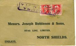 SPAIN 1937Civil War Censored Cover To UK - 1931-50 Cartas