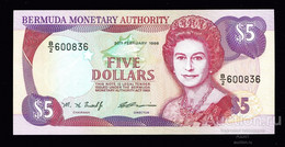 BERMUDAS  5 Dollars 1996 Pick 41, UNC! - Bermudas
