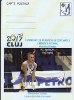 94000- LAURENTIU NISTOR, EUROPEAN CHMAPIONSHIPS, GYMNASTICS, SPORTS, SPECIAL POSTCARD, 2017, ROMANIA - Gymnastiek
