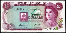 BERMUDAS  5 Dollars 1970  XF - Bermudas