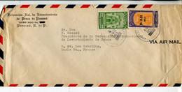 Panama (1953) - Aerogramma Per La Francia - Panamá