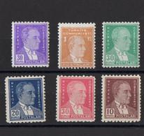 1936 - 1955 Atatürk Stamps MNH** - Ungebraucht