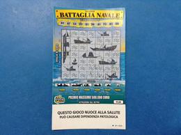ITALIA BIGLIETTO LOTTERIA ISTANTANEA GRATTA E VINCI USATO € 5,00 NUOVO BATTAGLIA NAVALE LOTTO 3303 ITALY LOTTERY TICKET - Lottery Tickets
