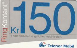 Norway, TEL-MOB-009, Telenor 150, 2 Scans. - Noruega