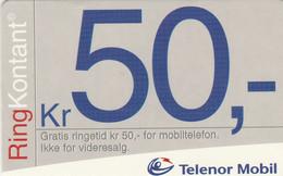 Norway, TEL-MOB-?, Telenor 50, 2 Scans. - Noruega