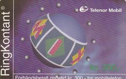 Norway, TEL-MOB-?, MIX; RingKontant, 300, 2 Scans. - Noruega