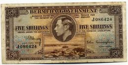 BERMUDAS  1 Dollars 1937,  P-8a  RARE! - Bermudas