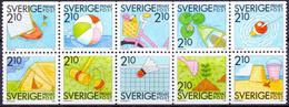 ZWEDEN 1989 HBL Rabbatzegels PF-MNH - Unused Stamps