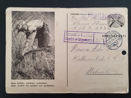 Kentäpostia Card 15-9-1941 - Militari