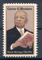 États-Unis 1984 - Y & T N. 1517 - Carter Godwin Woodson  (Michel N. 1678) - Neufs