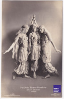 RPPC CPA Photo 1915 Opéra Comique Marouf Savetier Du Caire Actrice Danseuse Orientale Danse Belle Epoque Robe A44-19 - Entertainers