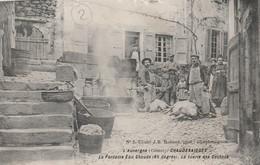 15 CHAUDESAIGUES La Tuerie Des Cochons à La Fontaine - Other Municipalities