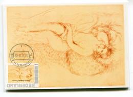 RENOIR MAXIMUM CARD NUDE  AKT NAKED NETHERLANDS - Aktmalerei