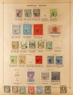 """FOUR CONTINENTS - OLD TIME COLLECTION 1840s-1930s. A Charming """"Old Time"""", MINT & USED COLLECTION Featuring ASIA, AFRICA, - Zonder Classificatie"""