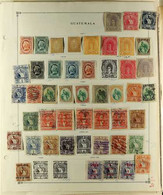 LATIN AMERICA 19th Century To 2000's MAGNIFICENT ACCUMULATION Of Mint & Used Stamps In A Thick Pile Of Pages, Includes V - Zonder Classificatie