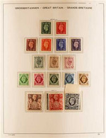 GREAT BRITAIN 1937 TO 1973 NEVER HINGED MINT COLLECTION In A Hingeless Album With A Comprehensive Range Of Issues With K - Zonder Classificatie