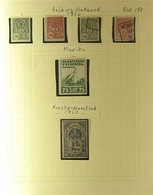 RAILWAY LOCAL STAMPS DENMARK 1866-1960's ATTRACTIVE FINE MINT, NHM & USED COLLECTION Of Various Private Railways 'Jerban - Zonder Classificatie