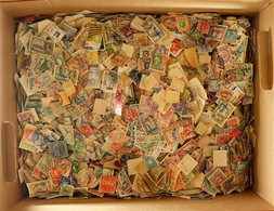 FABULOUS OFF PAPER HOARD 19th Century To 1980's Worldwide Mostly Used Loose Stamps In A Large Box, Includes Stamps From  - Zonder Classificatie