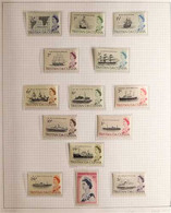 BRITISH COMMONWEALTH An Attractive Collection Of Mint, Nhm & Used Ranges In A Four Ring Binder, Chiefly As Complete Sets - Zonder Classificatie