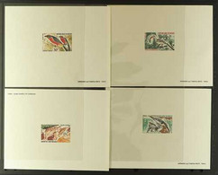 BIRDS NIGER 1967-1970 All Different Group Of Imperf Epreuves De Luxe, All Featuring Various Birds. Lovely. (11 Epreuves) - Zonder Classificatie