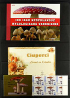 MUSHROOMS (FUNGI) 1970's To Modern All Different Collection Of COMPLETE BOOKLETS From A Variety Of European Countries, A - Zonder Classificatie