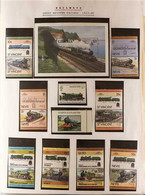 RAILWAYS Extensive Collection Of Stamps, Covers, Cards, Presentation Packs And Some Ephemera In Bulging Album. Worldwide - Zonder Classificatie